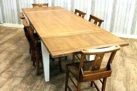 extendable farmhouse table. Farmhouse Table With Leaves Extendable Dining M