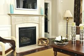 can you mount a tv over a fireplace wood and marble work together flawlessly in this can you mount
