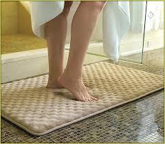 bath mat memory foam bath rug attractive set home design ideas with regard to