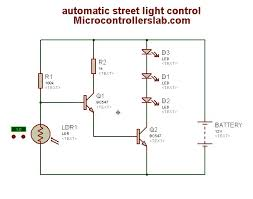 automatic street light control circuit diagram Street Light Wiring Diagram automatic street light control n scale street light wiring diagram