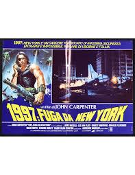 fotobusta 1997 FUGA DA NEW YORK john carpenter kurt russell barbeau R237