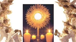 Image result for adoration of the blessed sacrament