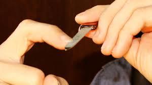 clical guitar nail shape