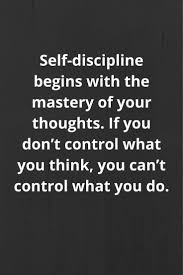 Inspirational Quotes On Self Discipline It Is True Inspirational