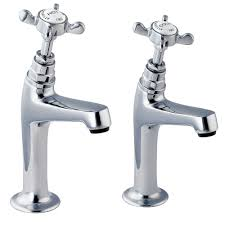 Deva Coronation 12 Inch High Neck Kitchen Sink Taps Chrome