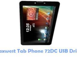 Download Maxwest Tab Phone 72DC USB ...