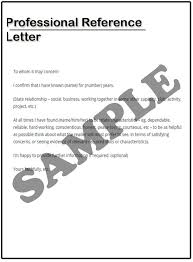 Ideas Collection Professional Reference Letter Sample Also Proposal