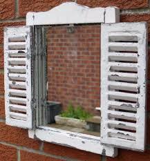 weathered wood wall art wall art office ideas interiors charming distressed wood wooden mirror shutter window