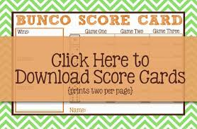 Bunco Score Sheets Template New I Should Be Mopping The Floor Free Bunco Printables