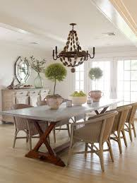 wicker dining chairs cottage dining room orrick and company Wicker