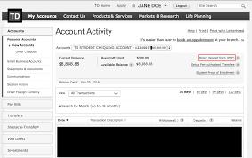 Direct Deposit Form Td 4 – Infoe Link