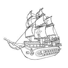 Piraten En Zeerovers Kleurplaten Kleurplatenpaginanl Boordevol