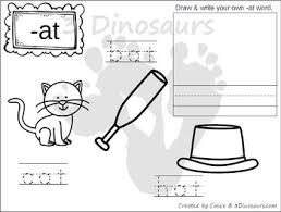 Word Family Coloring Pages Cvc Word Family Coloring Pages
