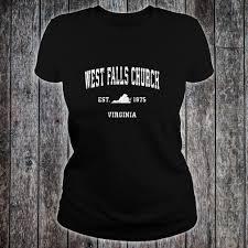 Church Tee Shirt Designs West Falls Church Virginia Va Vintage Athletic Sports Design Shirt