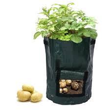 planter bags potato for growing potatoes outdoor vertical garden hanging open style vegetable planting grow bag