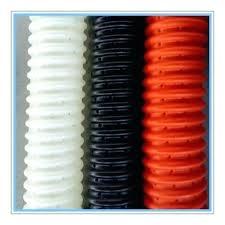corrugated drain pipe corrugated drain pipe perforated drainage suction pipes 4 connectors 4 corrugated drain