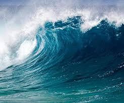 Amazon Com Ocean Wave Photography Backdrop Beach Sea Water