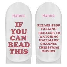 Im Watching Hallmark Socks
