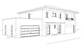 Dessiner Façade Maison 3d