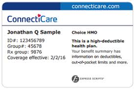 Connecticare Commercial Cards - amp; Provider Identification Manual Physician