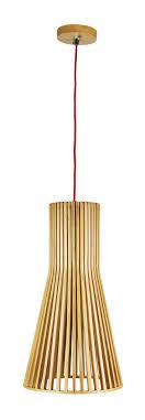 Pendant Light Natural Timber in Nord Oriel Lighting