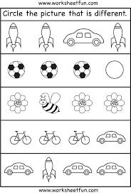 Free Kindergarden Worksheets Free Kindergarten Math Worksheets Free ...