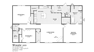 Great Awesome 2 Bedroom Double Wide Floor Plans Trends Including Bathroom  Enchanting Ideas And Mobile Homes Red Pictures
