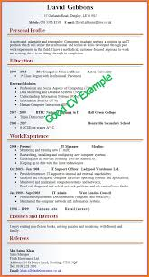 example of a written cv application 11 example of a written cv penn working papers