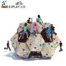 china newest plastic kids rock climbing