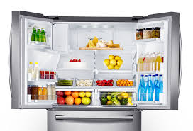 open refrigerator. see everything at a glance open refrigerator i