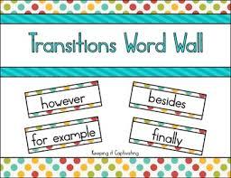 Anaztasya Primbon Transitions Words Moreover Furthermore
