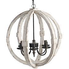 distressed wood sphere indooroutdoor chandelier shades distressed wood globe chandelier