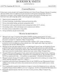 Resume Examples 2016 Professional Resume Examples for Project Manager 6060 55