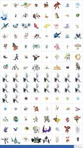The Spriters Resource - Full Sheet View - Pokémon Sun / Moon - Alola Dex  Previews (7th Generation, Normal)