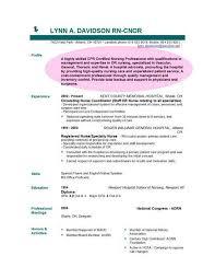 Sample Objective Resume For Nursing Resumecareer Info