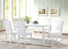 white dining table and chairs attractive white gloss dining table and chairs within modern white dining