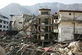 earthquake scenario in China ...