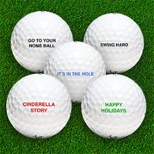 personalized golf custom golf