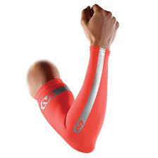 Mcdavid Compression Arm Sleeve Sizing Chart Mcdavid 6566rf Compression Reflective Arm Sleeves Pair Bright Orange