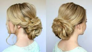 Hair Style Low Bun braid low bun updo missy sue youtube 2538 by wearticles.com