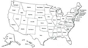 Printable Map Of United States Regions Outline Maps And Capitals The