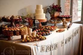 backyard wedding reception food