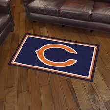 nfl chicago bears 3 x5 plush rug