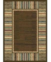 rustic lodge style area rugs lake house cabin boardwalk mocha rug