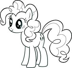 Idea My Little Pony Characters Coloring Pages For Baby My Little