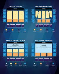 Civic Auditorium Seating Chart Seating Map Redding Civic