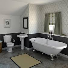 traditional bathroom lighting ideas white free standin. Oxford Traditional Free Standing Single Ended Roll Top Bath Suite At Victorian Plumbing UK Bathroom Lighting Ideas White Standin