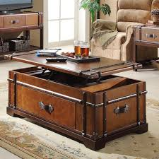 Amazing Of Trunk Style Coffee Table Used Trunk Coffee Table Mahogany For  Sale 40 Ads In