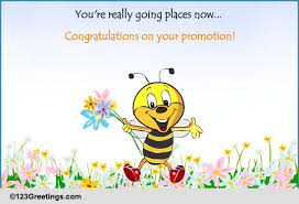 Congrats On Your Promotion Congratulations On Promotion Free Promotion Ecards