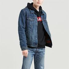 <b>Levis</b> | <b>Lined Trucker</b> Jacket | Denim Jackets - <b>Lined</b> | House of Fraser